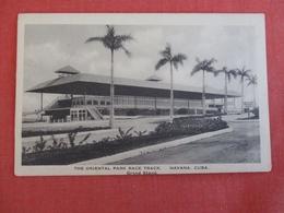 Oriental Park Race Track  Havana   Cuba   Ref 3001 - Cuba