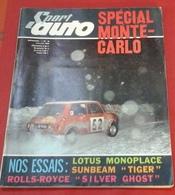 Sport Auto N°48 Janvier 1966 Rallye Monte Carlo,Rolls Royce Silver Ghost,Beltoise Shlesser Andruet,Sunbeam Alpine 260 - Auto/Moto