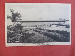 Grand Stand    Oriental Park Race Track  Havana   Cuba   Ref 3001 - Cuba