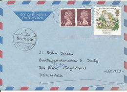 Great Britain Air Mail Cover Sent To Denmark 8-6-2006 With Europa CEPT Stamp - 1952-.... (Elizabeth II)