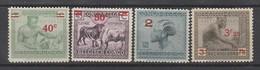 Congo Belge N°  159 à 161A **  MNH  TTB     (cote 120 Euros), (1) - Belgian Congo
