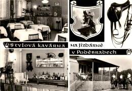 """Podebrady - Kavarna """"Na Jizdarne"""" * 31. 8. 1982 - República Checa"""
