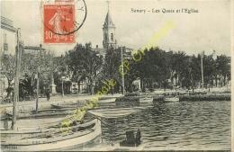 83. SANARY .  Les Quais Et L'église . - Sanary-sur-Mer