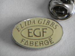 Pin's - ELIDA GIBBS EGF FABERGÉ - Trademarks