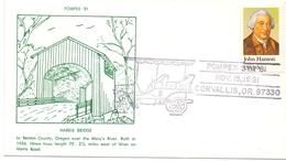 HARRIS BRIDGE  OREGON  POMPEX 81    (GIUGN180194) - Ponti