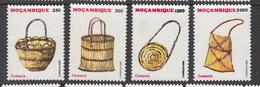 1995 Mozambique Baskets Complete Set Of 4 MNH - Mozambique