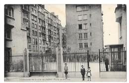 PARIS (XIV) Porte De Vanves Immeubles De La Ville De Paris Animation - Distretto: 14
