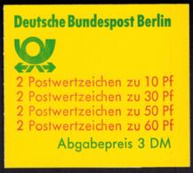 Berlin Markenheftchen 12 Ca I OZ Burgen Und Schlösser 1980 Tadellos Postfrisch - Berlin (West)
