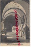 03-  ABBAYE DE SEPT FONS- RELIGIEUX ALLANT DE L' EGLISE AU CHAPITRE -SOUVENIR DE LA TRAPPE PAR DOMPIERRE SUR BESBRE - Autres Communes