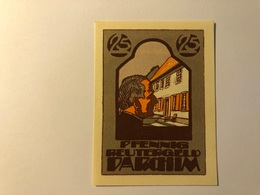 Allemagne Notgeld Parchim 25 Pfennig - [ 3] 1918-1933 : Weimar Republic