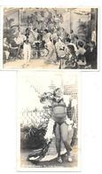 Amérique - CUBA - 2 Cartes Photo De LA HAVANE - HAVANA - CUBAN TYPICAL RUMBA  écrites En 1943 à BORD Du S.S. CAPO OLMO - Cartes Postales
