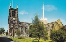 Postcard The Cathedral Blackburn  My Ref  B12250 - England