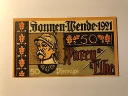 Allemagne Notgeld Parey 50 Pfennig - [ 3] 1918-1933 : Weimar Republic