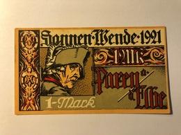 Allemagne Notgeld Parey 1 Mark - [ 3] 1918-1933 : Weimar Republic