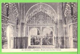 GRANADA / ALHAMBRA / MIRADOR DE LA FAVORITZ LINDARAJA..... Carte Vierge - Granada