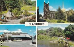 Postcard  Blackburn Multiview  My Ref  B12251 - England