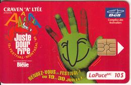 """CANADA - Festival """"Craven A"""", Tirage 20000, 06/95, Used - Canada"""