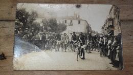 Carte Photo : Course De Vélos A Identifier ................... 3873 - Cartes Postales