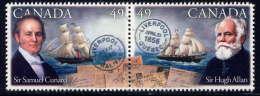 CANADA - 2081/2082** - PERSONNALITES - Unused Stamps