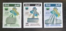 Iraq 2018 NEW MNH Set 3v. - Mineral Sources In Iraq - Iraq