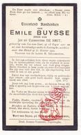 DP Kind - Emile Buysse / De Smit 11j. ° Sas Van Gent Terneuzen NL Zeeland 1911 Boezinge Ieper BE 1922 - Devotion Images