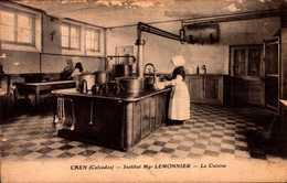CPA - CALVADOS - Caen - Institut Mgr Lemonnier - La Cuisine - Caen