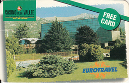 ITALY - Casino De La Vallee, Member Card, Exp.date 31/12/98, Used - Casino Cards