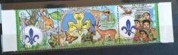 V33 - Libya 1995 Mi. 2149-2151 Complete Set 3v. MNH - Scouts Jamboree - Libya