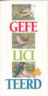 NETHERLANDS - Set Of 3 Cards, Birds, CN : 344H, Tirage 10000, Mint - Oiseaux