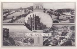 Postcard Craiglands Hotel Ilkley Yorkshire  RP By Walter Scott My Ref  B12255 - Hotels & Restaurants