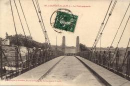 FRANCE - SEINE-ET-MARNE (77) - LA FERTE-SOUS- JOUARRE - LUZANCY - Le Pont Suspendu (n°165). - La Ferte Sous Jouarre