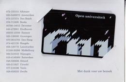 NETHERLANDS - Open Universiteit, CN : 202A, Tirage 7500, 09/91, Mint - Netherlands