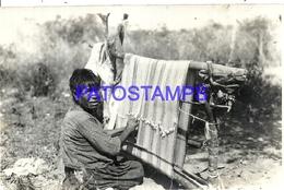 95157 PARAGUAY COSTUMES NATIVE TEJEDOR POSTAL POSTCARD - Paraguay
