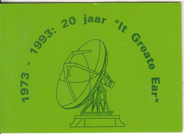 NETHERLANDS - Earth Station, 20 Jaar Grondstation Burum, CN : 202A, Tirage 6000, 01/93, Mint - Netherlands