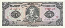 Ecuador 5 Sucres 22-11-1988 Pick 113d IB UNC - Ecuador