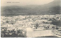 POSTAL   TETUAN  -MARRUECOS  -POSTAL DOBLE  - VISTA GENERAL (VUE GENERALE) - Marrakech