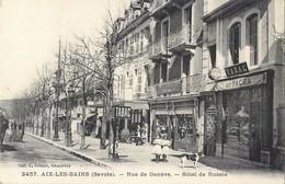 AIX-LES-BAINS RUE DE GENEVE HOTEL DE RUSSIE 73 - Aix Les Bains
