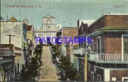 95167 PUERTO RICO SAN JUAN CALETA & CHURCH POSTAL POSTCARD - Postcards