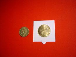 LOT PIECES 1.5 ET 1/100° EURO TEMPORAIRE VILLE DE FLAYOSC - Euros Of The Cities