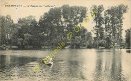95.  CHAMPAGNE .  Le Passeur Des Ablettes . - Champagne Sur Oise