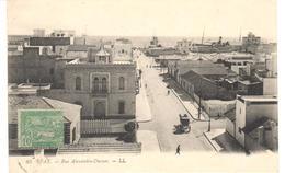 POSTAL   SFAX  - TUNEZ  .RUE ALEXANDRE DUMAS  (CALLE ALEJANDRO DUMAS) - Túnez