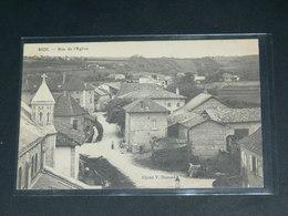 BIOL    / ARDT  La Tour-du-Pin  1910 /    RUE    .....  EDITEUR - Autres Communes