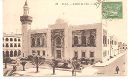 POSTAL  SFAX  -TUNEZ  - L'HÔTEL DE LA  VILLE  ( EL HOTEL DE LA CIUDAD ) - Túnez
