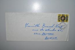 Grande-Bretagne 1977 Enveloppe Premier Jour Mauvais état - 1971-1980 Em. Décimales