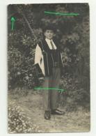 PONTIVY Carte Photo  Jeune Homme En Costume - Pontivy