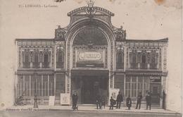 CPA Limoges - Le Casino (avec Animation) - Limoges