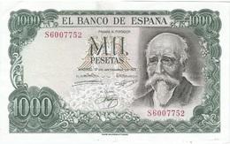España - Spain 1.000 Pesetas 17-9-1971 Pick 154 SERIE S Ref 1741 - [ 3] 1936-1975 : Regency Of Franco