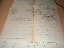 Telegram Brzojavka NDH  Hrvatski Karlovci 1943 - Croazia