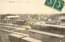 28.  MAINTENON . La Gare .  Vues Sur Les Quais . - Maintenon