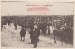 8AK1301 LA FOIRE DE LESSAY LE MARCHE AX CHEVAUX 2 SCANS - France